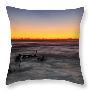 Forever At Sea Throw Pillow