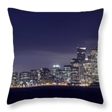 Fog City San Francisco2 Throw Pillow by Mike Reid