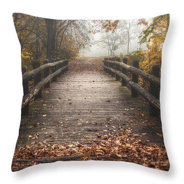Hike Throw Pillows