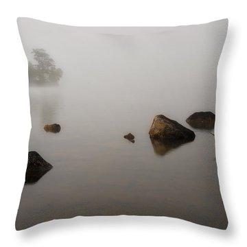 Foggy Morn Throw Pillow