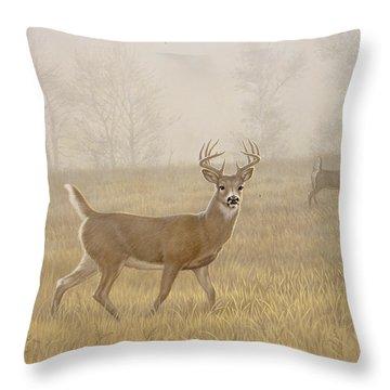 Whitetail Throw Pillows