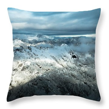 Foggy Ridge Throw Pillow