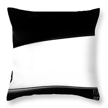 Foggy Window Throw Pillow