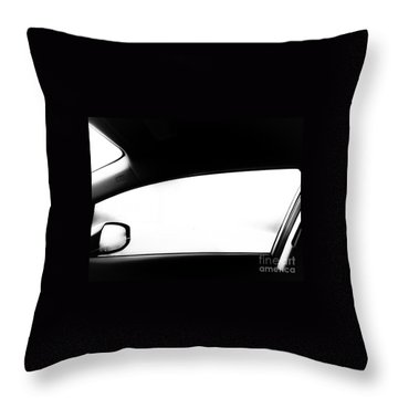 Foggy Window Throw Pillow