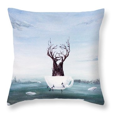 Foglifter Throw Pillow