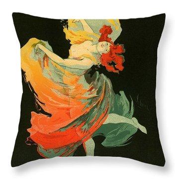 Follies Bergere Throw Pillow