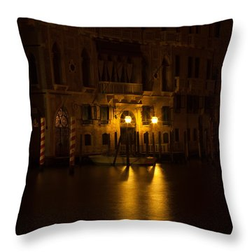 Follow Me Across The Water And Time Throw Pillow by Alex Lapidus