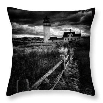 Throw Pillow featuring the photograph Follow Me by Robert McCubbin
