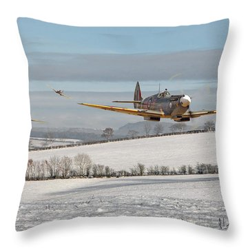 Follow My Leader Throw Pillow by Pat Speirs