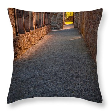 Follow Our Path Throw Pillow by Tim Bryan