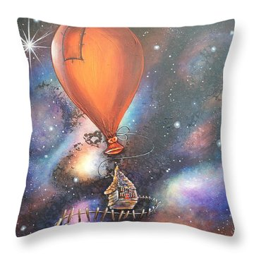 Follow That Star Throw Pillow