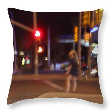 Follow The Heart Throw Pillow by Kume Bryant