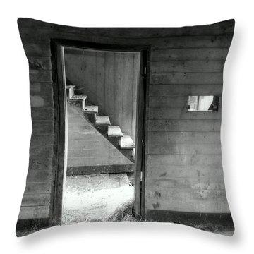 Follow The Light Throw Pillow by Karen Wiles