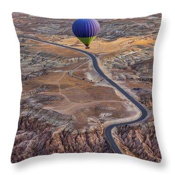 Hot Air Balloon Throw Pillows