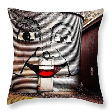 Follow The Yellow Brick Road. Throw Pillow