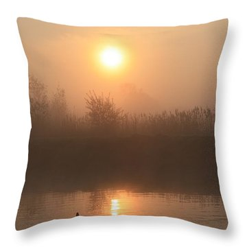 Follow Us Throw Pillow by Linsey Williams