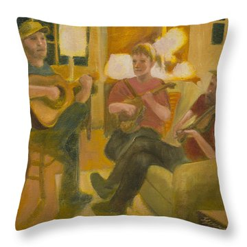 Following John Throw Pillow