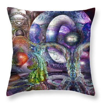 Fomorii Universe Throw Pillow