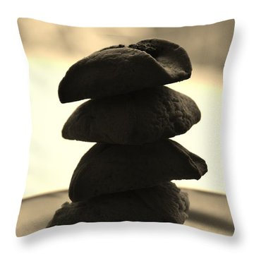Food For Thought Throw Pillow by Vadim Levin