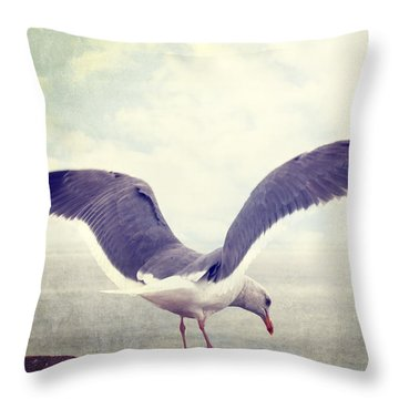 Food In Site Throw Pillow