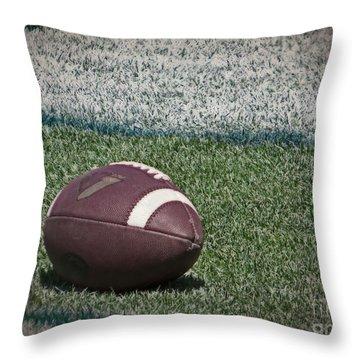 An American Football Throw Pillow