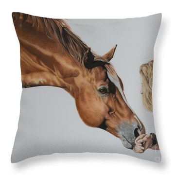 For Amy Throw Pillow by Joni Beinborn