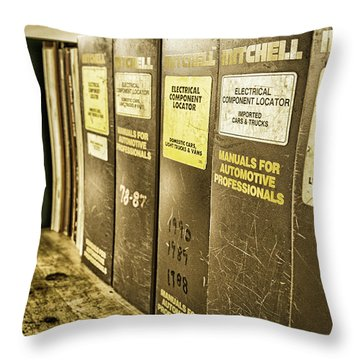 For Automotive Professionals Throw Pillow