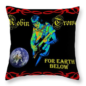 For Earth Below #1 Throw Pillow