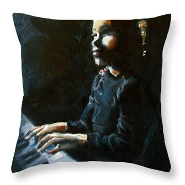For Elisha Throw Pillow