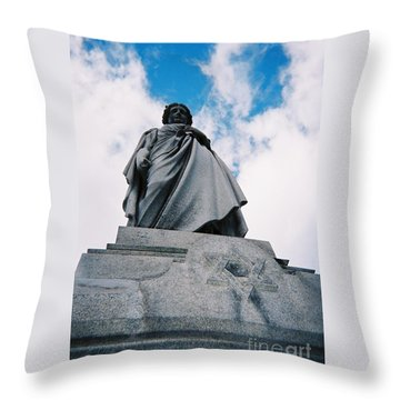 For Israel Tikkun Throw Pillow
