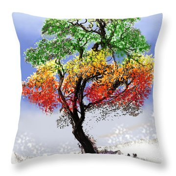 For Love's Rewards Throw Pillow