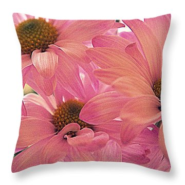 For Mom Throw Pillow by Laurie Perry