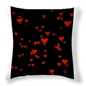 Throw Pillow featuring the digital art For My Girl... by Tim Fillingim