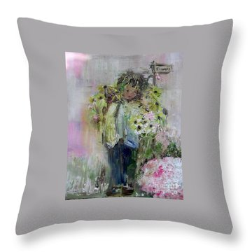 For My Mother Throw Pillow