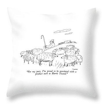 For My Part Throw Pillow