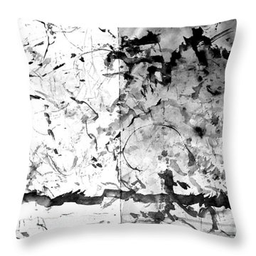 Throw Pillow featuring the digital art For Nancy Pillow By Vivian Anderson by Artists for Altered Cats Cyprus