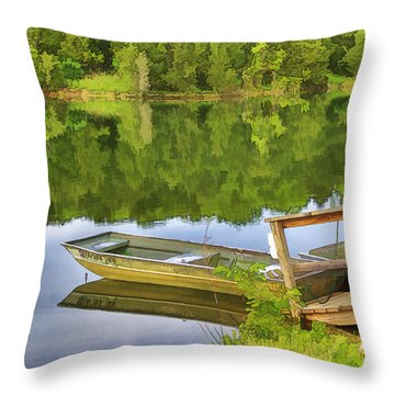 For Rent Throw Pillow by Kathleen Holley