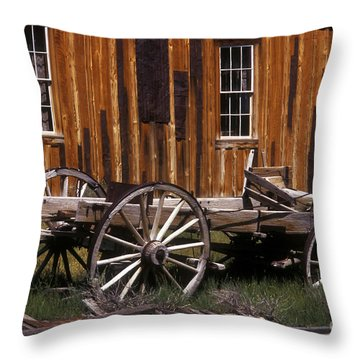 For Spare Parts Throw Pillow by Paul W Faust -  Impressions of Light