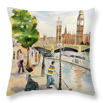For The Gruel Throw Pillow