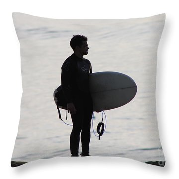 For The Love Of The Ride Throw Pillow by Pamela Walrath