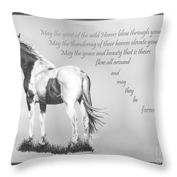 for the Wildies Throw Pillow