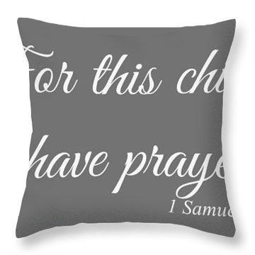 Pray For Love Throw Pillows