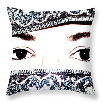 Forbidden Throw Pillow