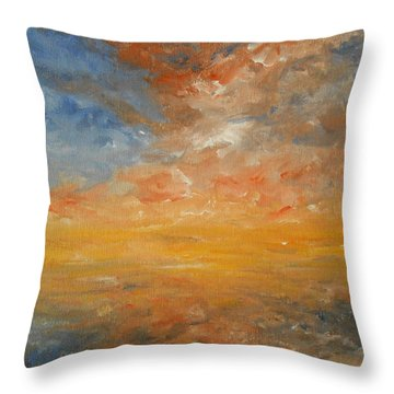 Force Of Nature 2 Throw Pillow