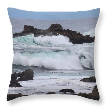 Force Of Nature Throw Pillow