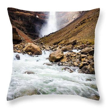 Force Of Nature Throw Pillow by Peta Thames