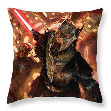 Force Scream Throw Pillow