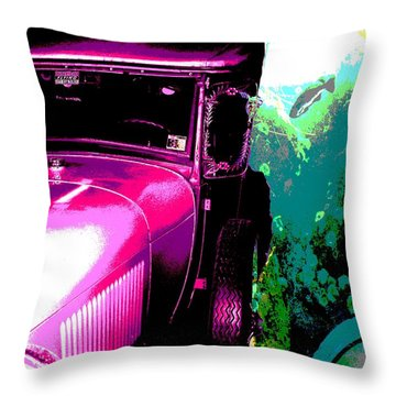 Ford A - Plantation 2 Throw Pillow by Marcello Cicchini