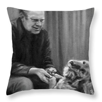 Ford And Liberty Throw Pillow