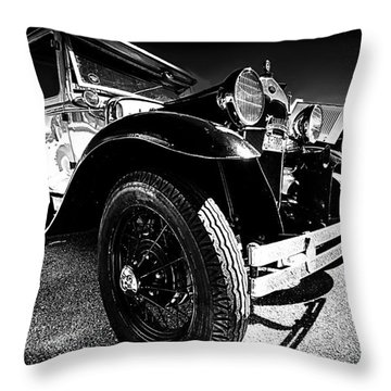 Ford Antique Cars Throw Pillow